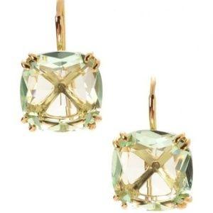 :: Stunning S&D MINT LUXE Cushion Drop Earrings